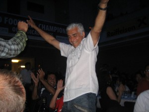 Shawn Taheri rejoices in the USA adulation in Innsbruck